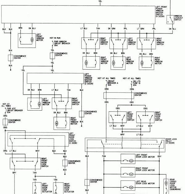 10 1994 Chevy Truck Radio Wiring Diagram Truck Diagram In