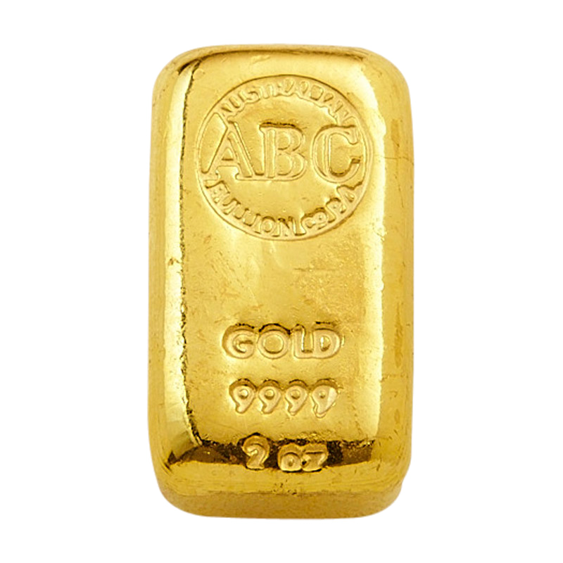The Abc Bullion 2 Ounce Cast Gold Bar Is A Favourite In The Australasian Investment Market Abcbullion Gold Cast Ingot Bullion Pallion Abc Gold It Cast