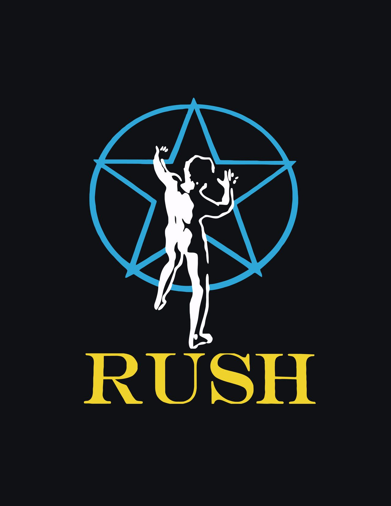 Rush logo 2010 2013 alvarock01 rush s starman this band logo is one of