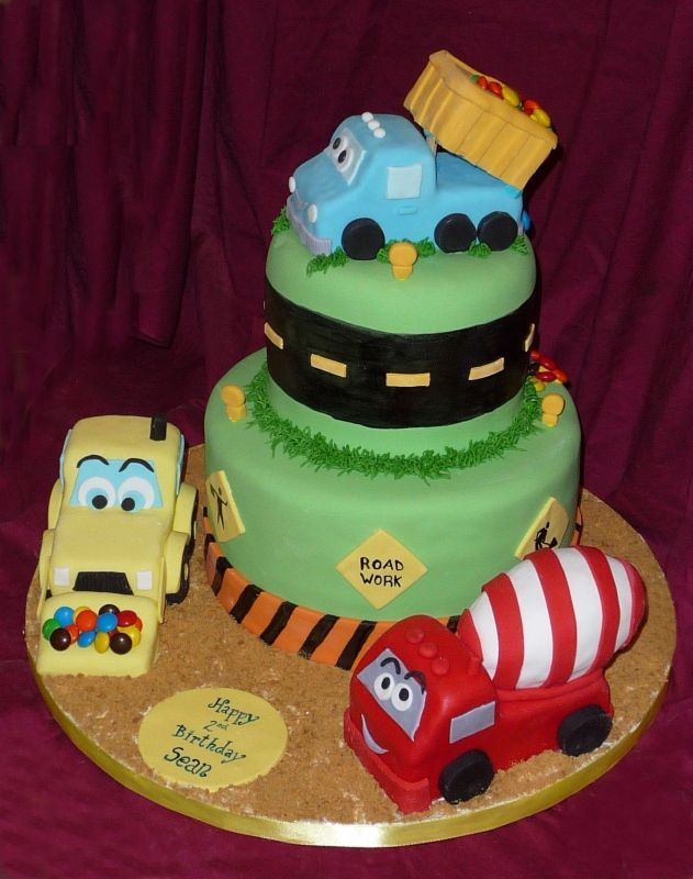 Cake Designs For Kids Birthday Party