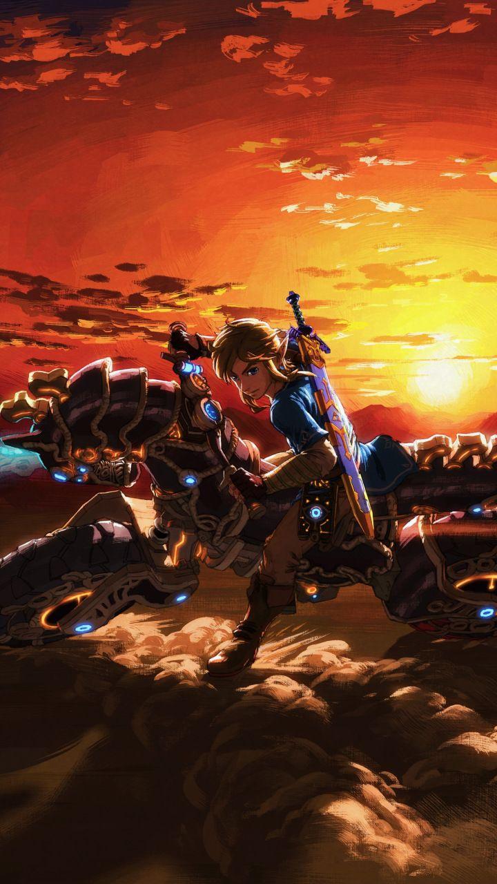 The Legend of Zelda: Breath of the Wild, master cycle zero, bike, 720x1280 wallpaper