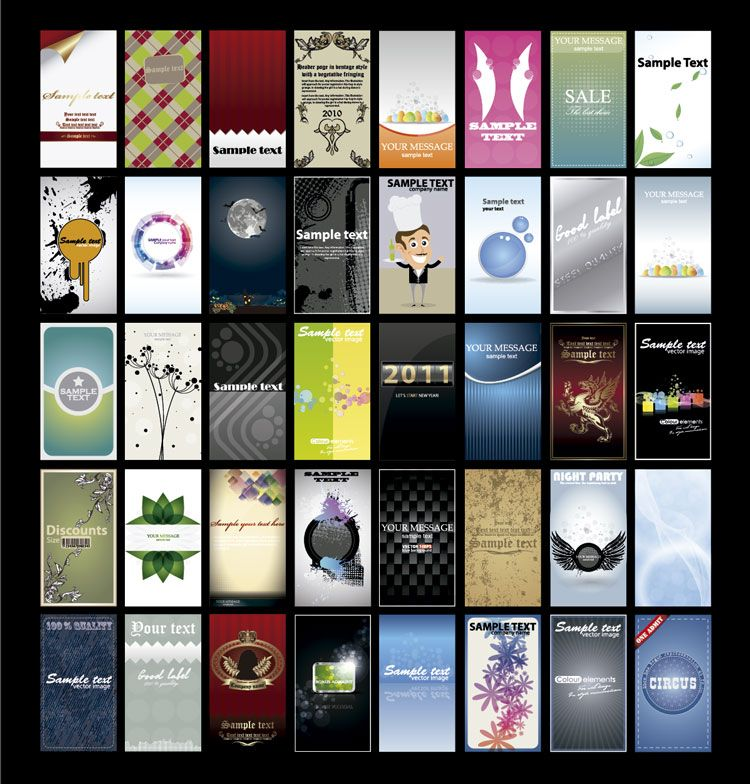 d5df0bf241e14 Más de 100 Plantillas Gratis para diseño de Tarjetas de Visita ...