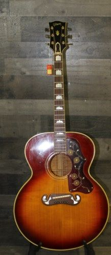 1969 Gibson J-200 Sunburst #vintageguitars
