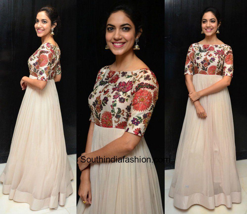 19cb18e9bf Ritu Varma in Mrunalini Rao | Anarkali | Vestidos, Vestidos de ...