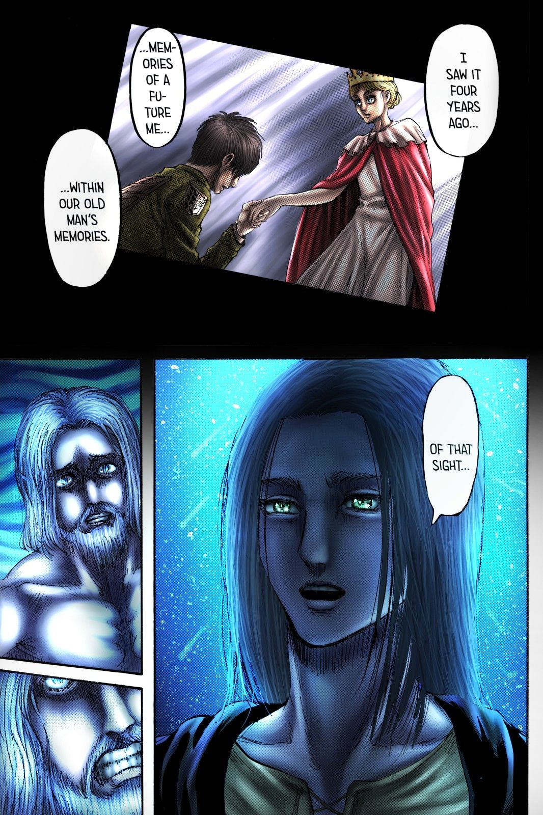 Shingeki No Kyojin Colored Chapter 121 Attack On Titan Anime Attack On Titan Eren Attack On Titan Fanart
