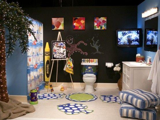 Decorazioni Bagno Bambini : Decorazione bagno per i bambini il mondo dei piccoli decorare