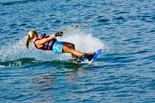 Wake Me Up Before You Go Go Today S Deal Ain T For Going Slow Though Wakeboarding Water Skiing Kneeboarding