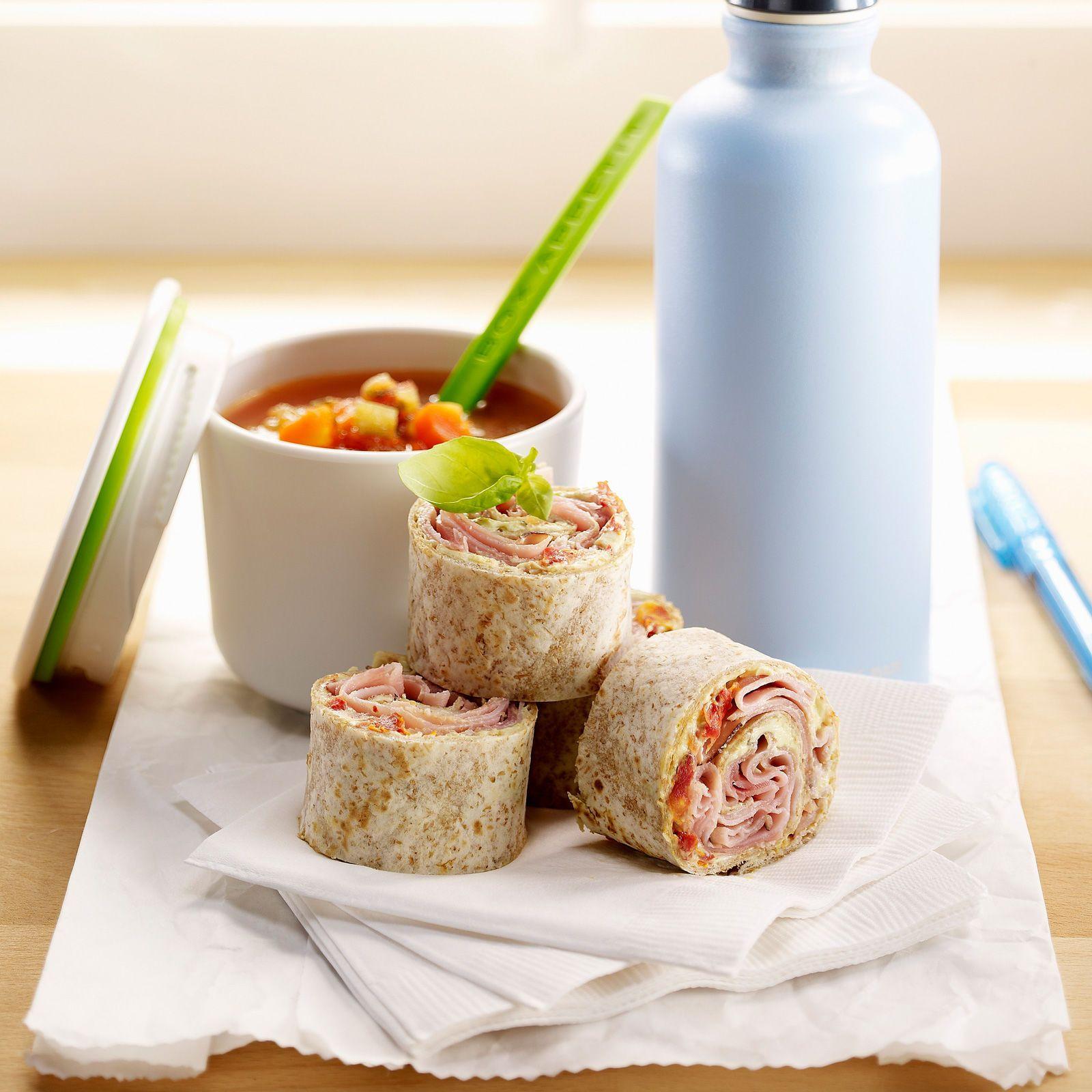 Recette wrap repas