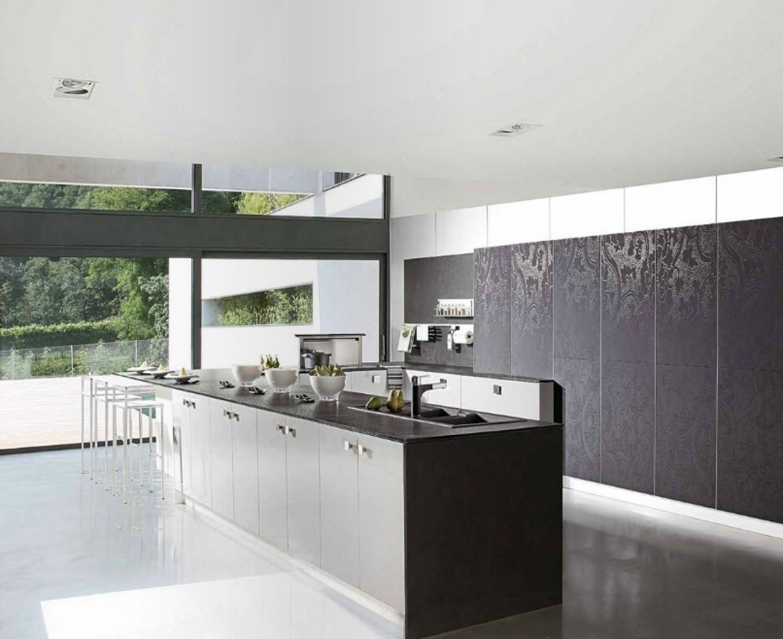 Luxury White Kitchens Wallpaper Hd Kitchen Design Ideas Modern Kitchen Design White Kitchen Wallpaper Kitchen Wallpaper Black And White