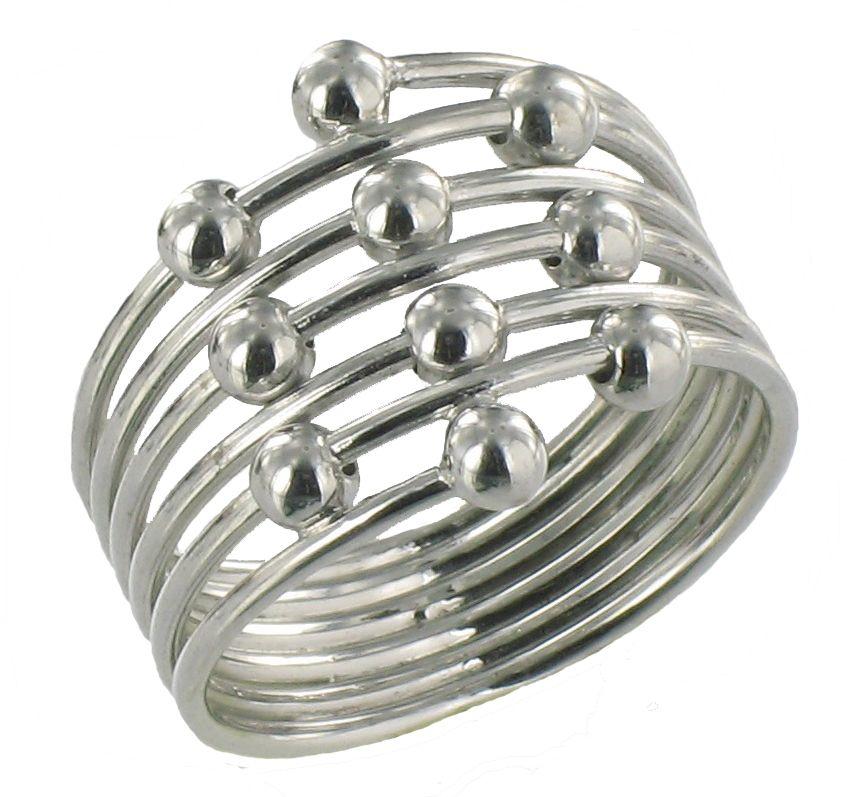 Soap Opera Jewelry has Robin Scorpio\'s Multi-Row Right Hand Silver ...