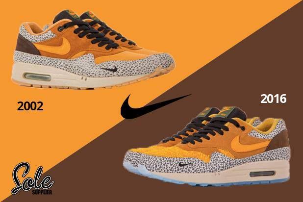atmos x Nike #AIRMAX 1 Safari Showdown! OG or New? Original