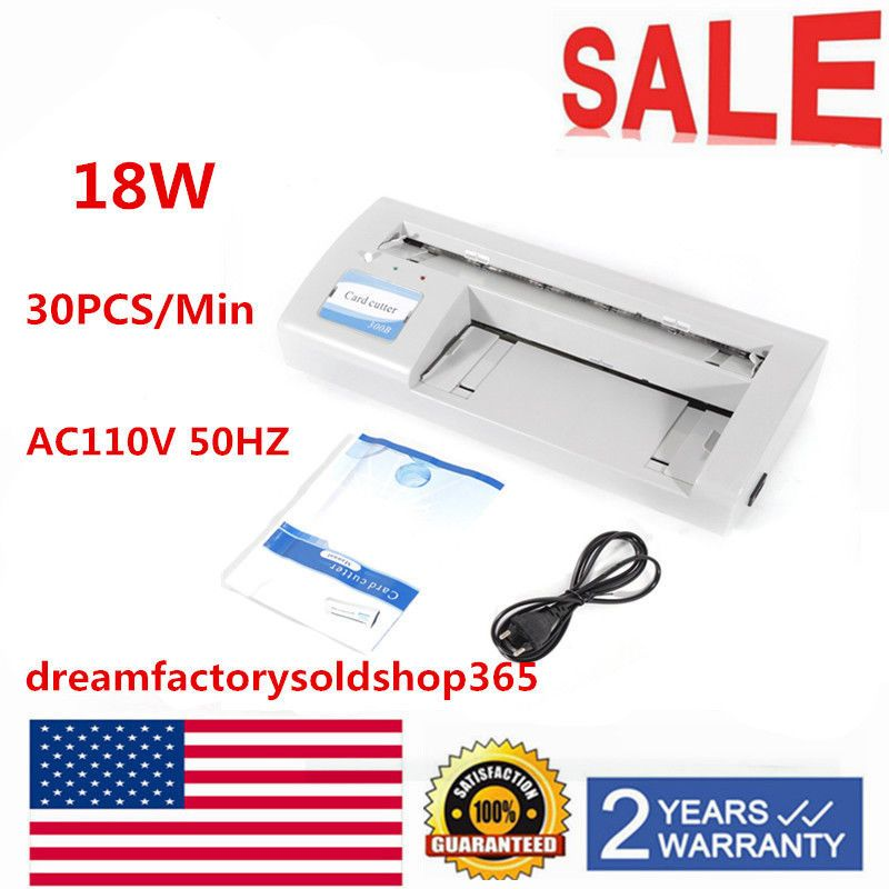 18w 300b automatic name card slitter business card cutting machine 18w 300b automatic name card slitter business card cutting machine 30pcsmin usa ebay reheart Images
