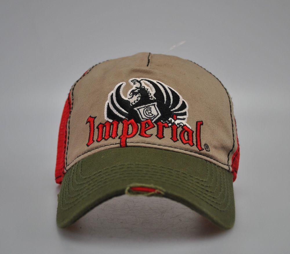 Imperial Beer Costa Rica Cerveza Baseball Cap Trucker Hat Adjustable Pura  Vida  Imperial  BaseballCap 258b34bff99