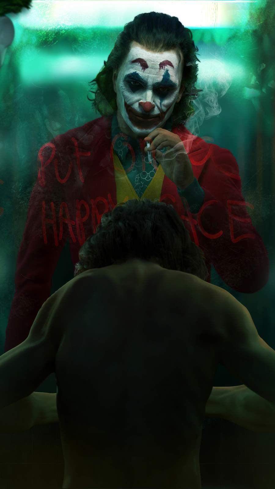 Joker Vs Arthur Iphone Wallpaper In 2020 Joker Wallpapers Batman Joker Wallpaper Joker Hd Wallpaper