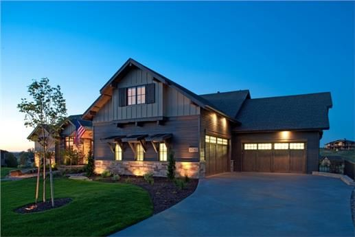 Country Luxury Texas Style Traditional House Plan Home Plan 161