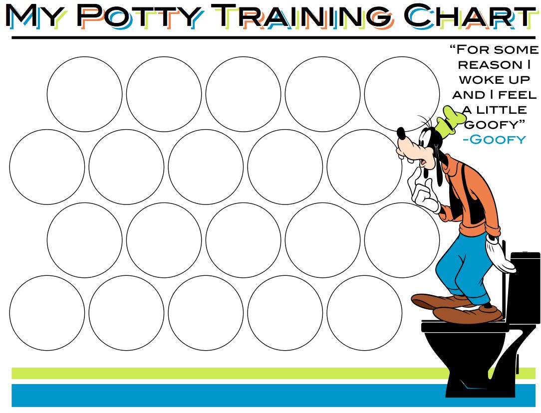 my potty chart