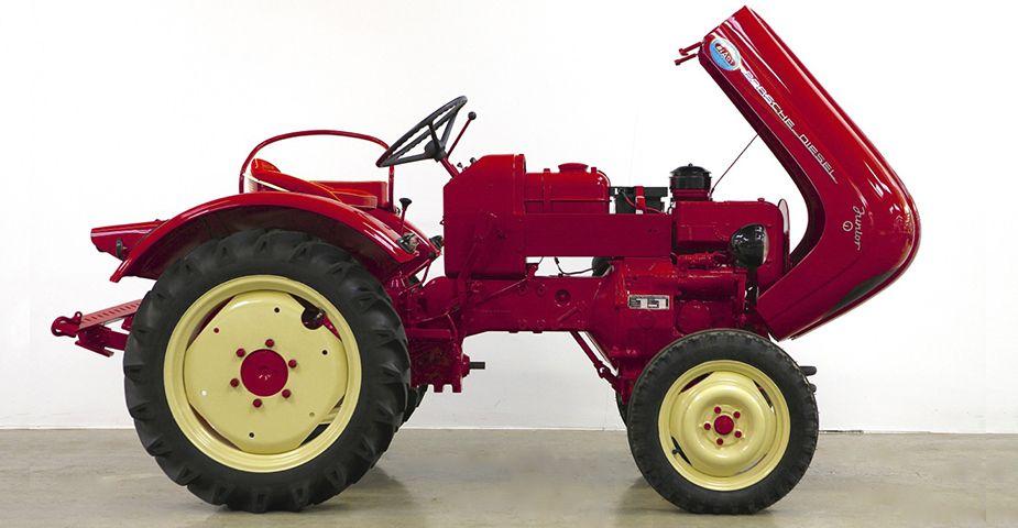 classic porsche tractor for sale 1963 porsche diesel. Black Bedroom Furniture Sets. Home Design Ideas