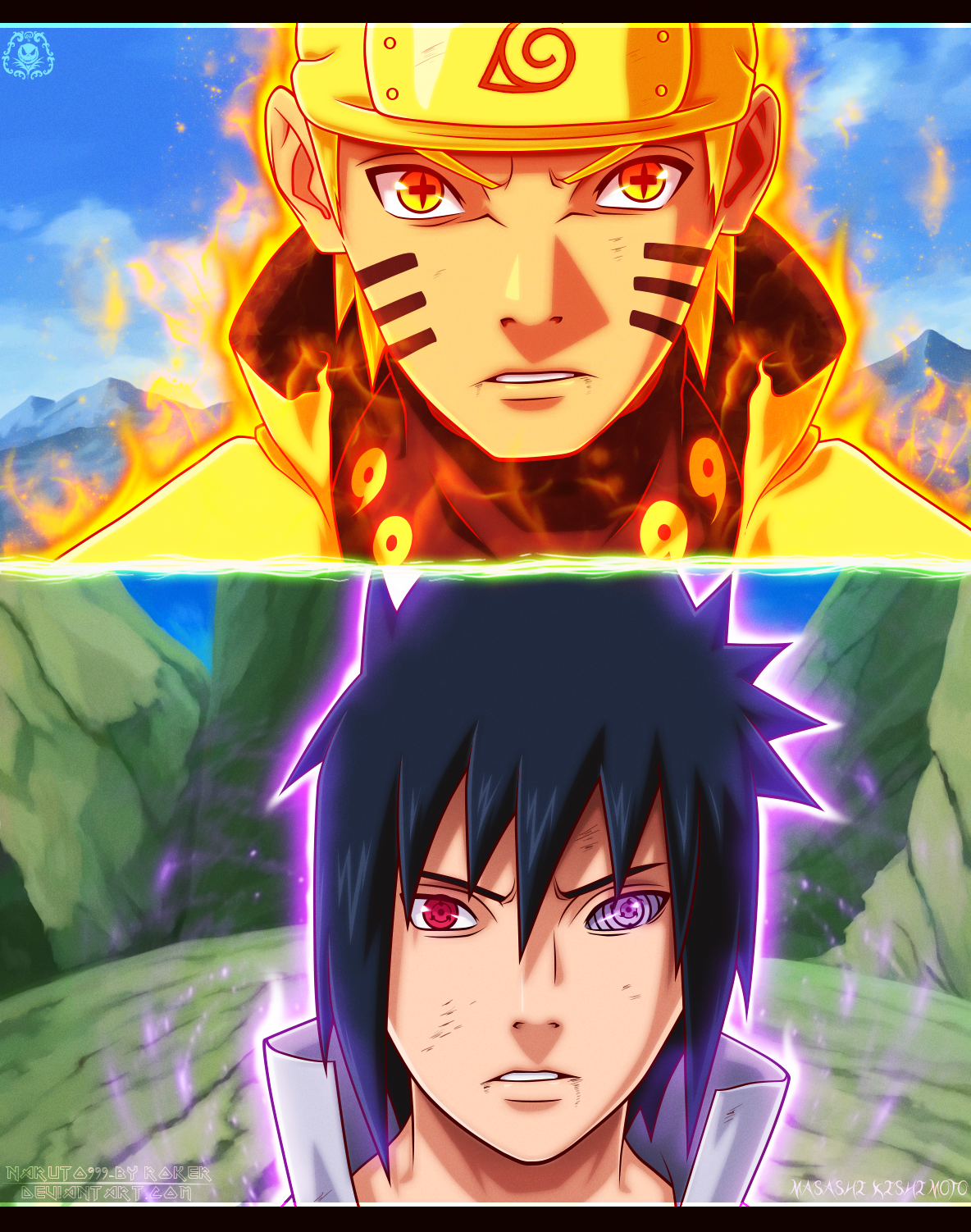 Naruto vs sasuke manga 696 by naruto999 by on deviantart anime - Naruto as sasuke ...