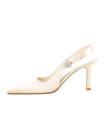 Vera Wang Satin Embellished Pumps sale brand new unisex pay with visa online cheap fast delivery buy cheap sneakernews buy cheap shop for gYRVA