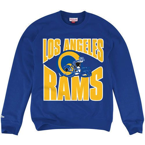 new product f9407 c129b Los Angeles LA Rams Mitchell &Ness Licensed Throwback Colors ...