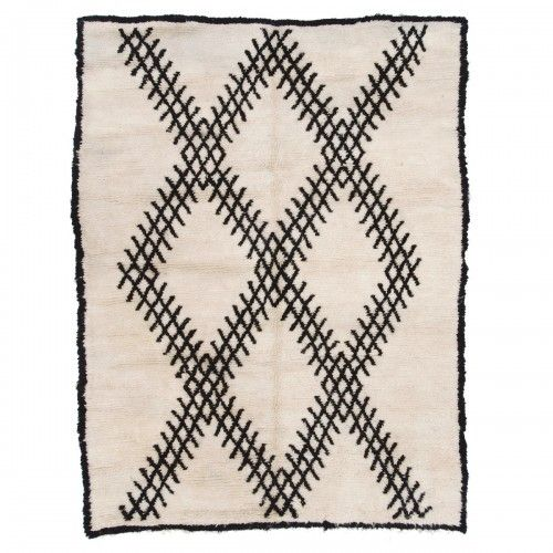 Amazing vintage berber rug from Atlas Mountains of Morocco.