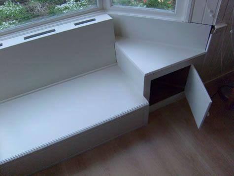 witte bank in erker 5 window seats pinterest window