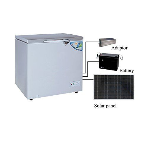 Solar 12v Dc Freezer Refrigerator Both Way To Charge 140l 5 Cubic Feet Csf 152ja Homeuse Solar 12v Home Appliances Appliance Bundles