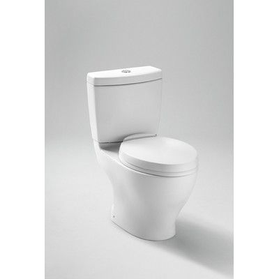 Toto Aquia Dual Flush 1 6 Gpf 0 9 Gpf Elongated 2 Piece Toilet With 10 Rough In Reviews Wayfair Toto Toilet Dual Flush Toilet One Piece Toilets