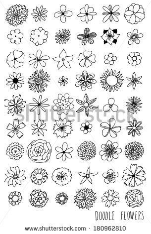 Pin By Kate Castle On Doodle In 2020 Easy Flower Drawings Doodle Art Flowers Flower Doodles