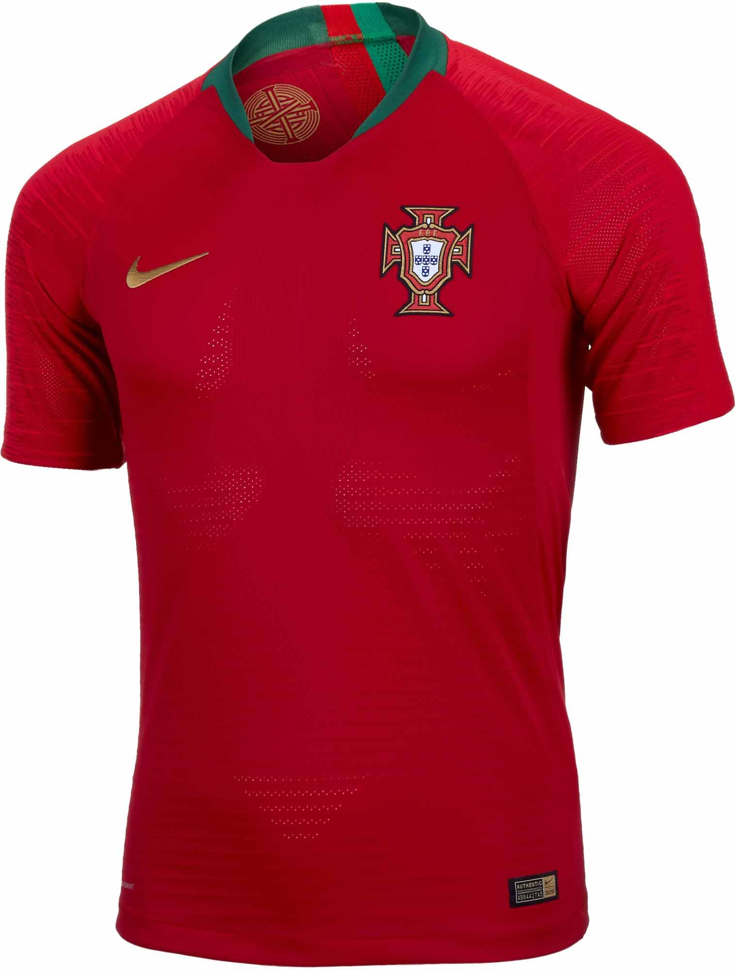 094ece9b1f 2018 19 Nike Portugal Home Match Jersey. Get yours from SoccerPro today.