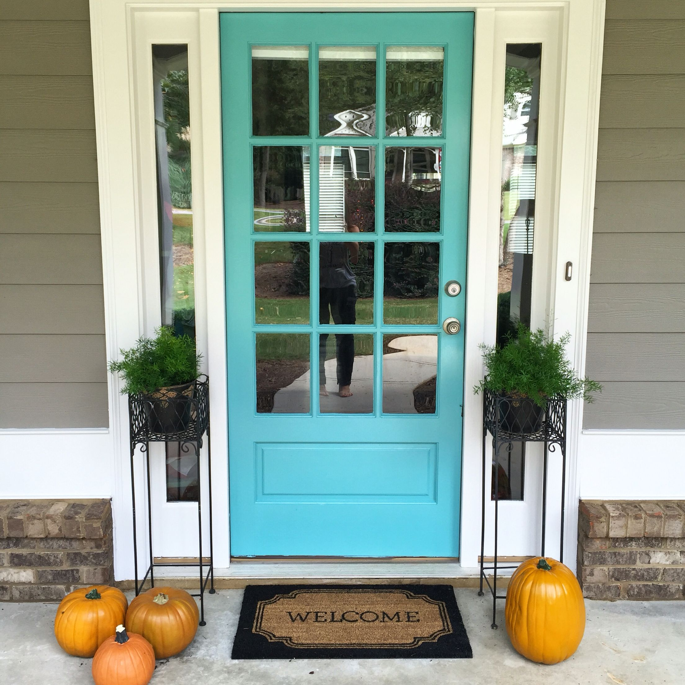 my tiffany blue front door sherwin williams reflecting on show me beautiful wall color id=79244