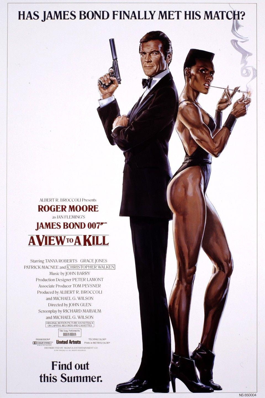 James Bond 007 A View To Kill 1985 James Bond Movie Posters