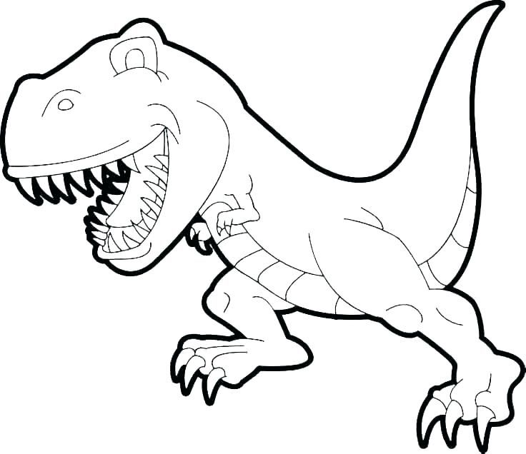 dinosaurs color pages pictures for kids to color cute