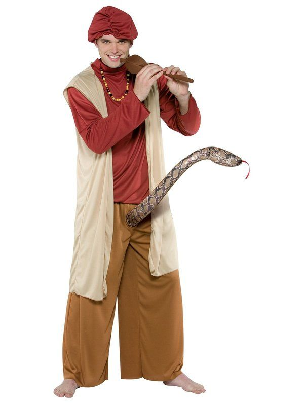 Halloween Snake Charmer - Adult Costume Mens Halloween costume - mens homemade halloween costume ideas