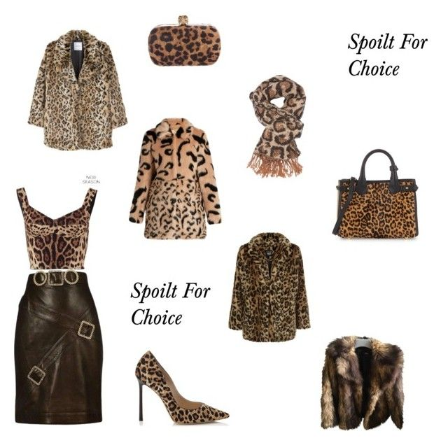 """Animal  Print"" by whitecastlenine on Polyvore featuring Dolce&Gabbana, Chanel, MANGO, New Look, ASOS, Jimmy Choo, Charlotte Russe, Burberry and Alexander McQueen"