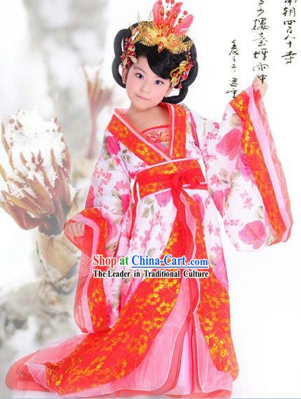8acb07f2e Ancient Chinese Hanfu Guzhuang Clothing for Children | Best design ...