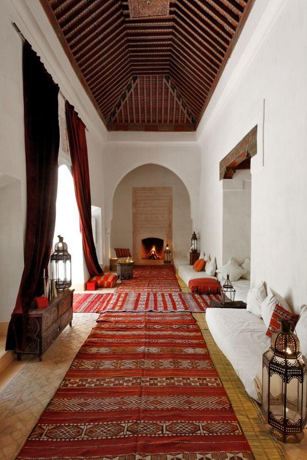 Le riad berb re marrakech maroc marruecos morocco dar usaa chill out pinterest - Casas marroquies ...