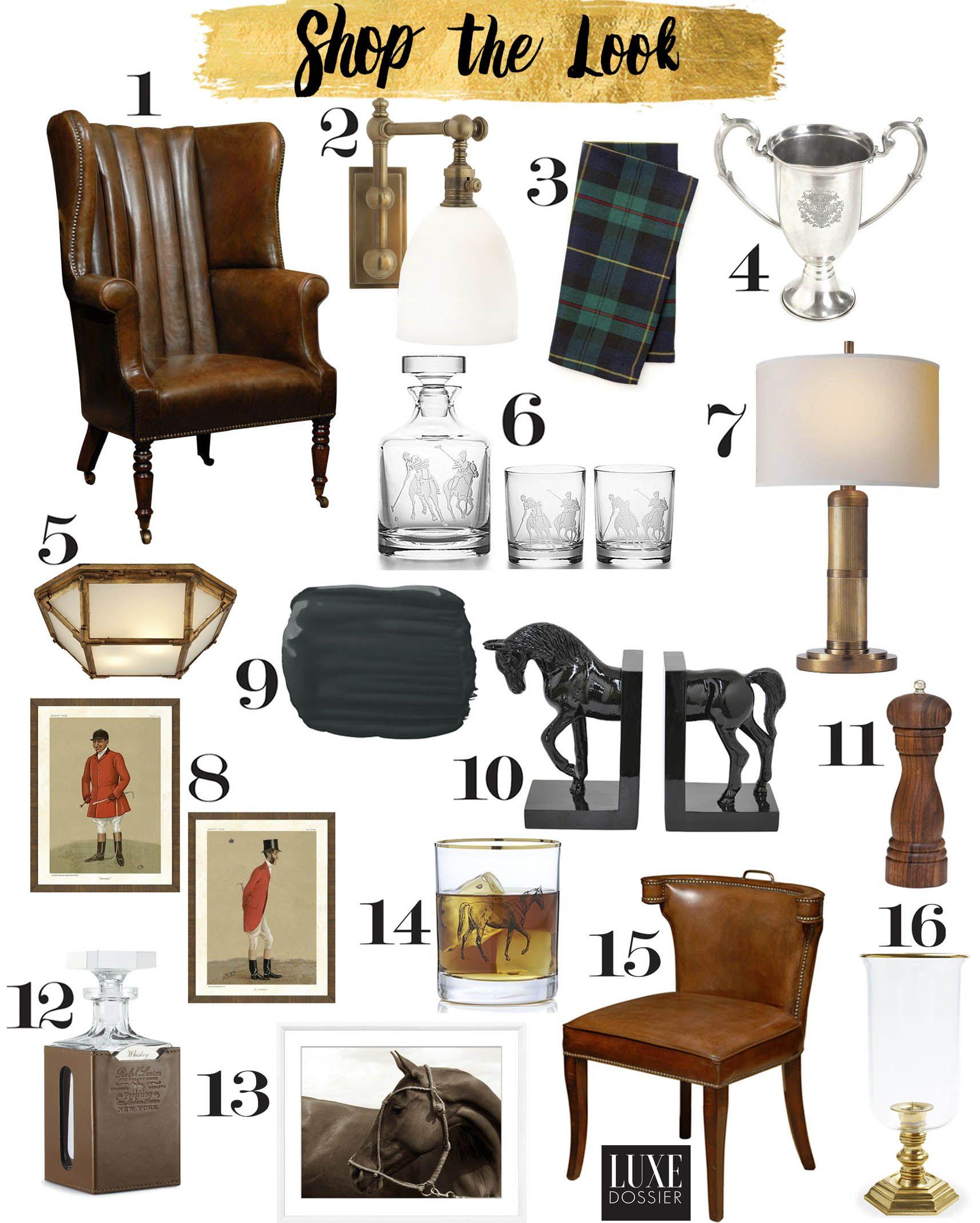 Ralph Lauren Hamptons Room: Shop The Look- Pieces Inspired By Ralph Lauren's The Polo