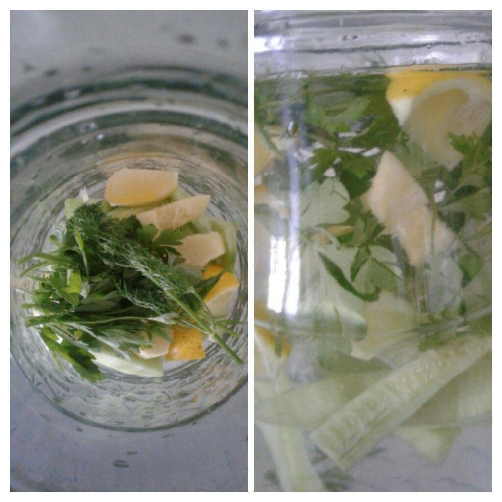Karın ve bel yağları eriten 4 zencefili soğuk çay tarifi
