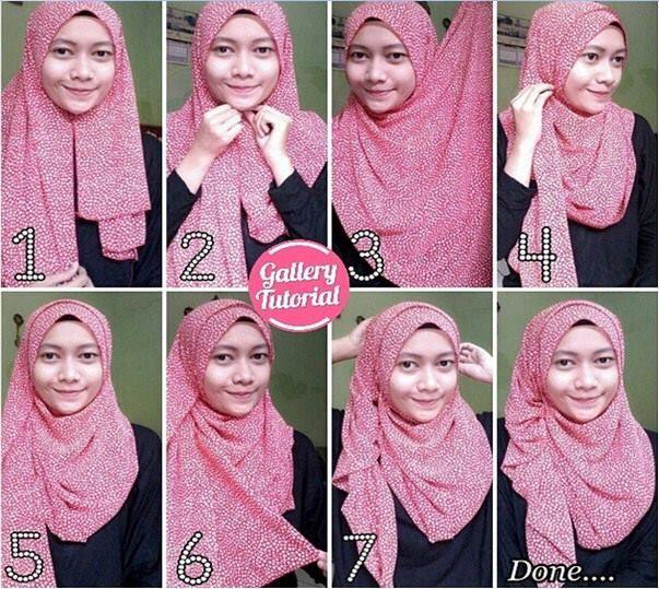 Tutorial Hijab Rawis Segi Empat Tanpa Ciput Tutorial Lif Co Id