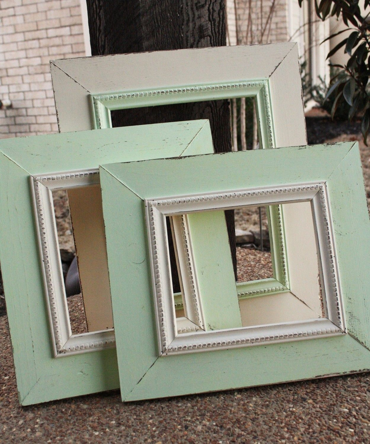 Distressed picture frame wall grouping set custom make in your distressed picture frame wall grouping set custom make in your colors 16000 via jeuxipadfo Image collections