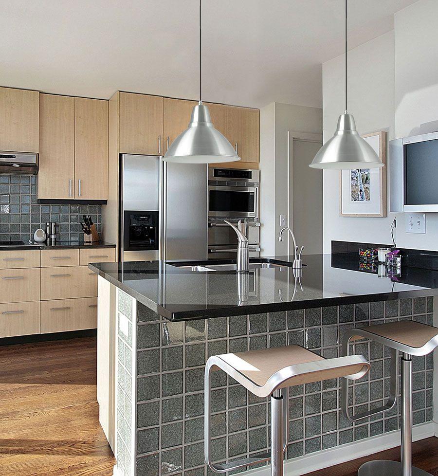 L mparas industriales n quel para cocina convencional for Iluminacion cocina ikea