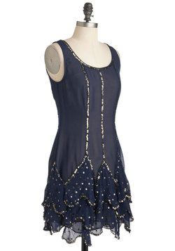 Art Deco Ball Dress, ModCloth