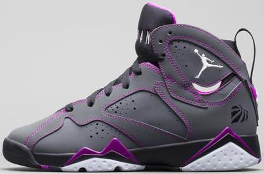 Air Jordan Gris Et Violet