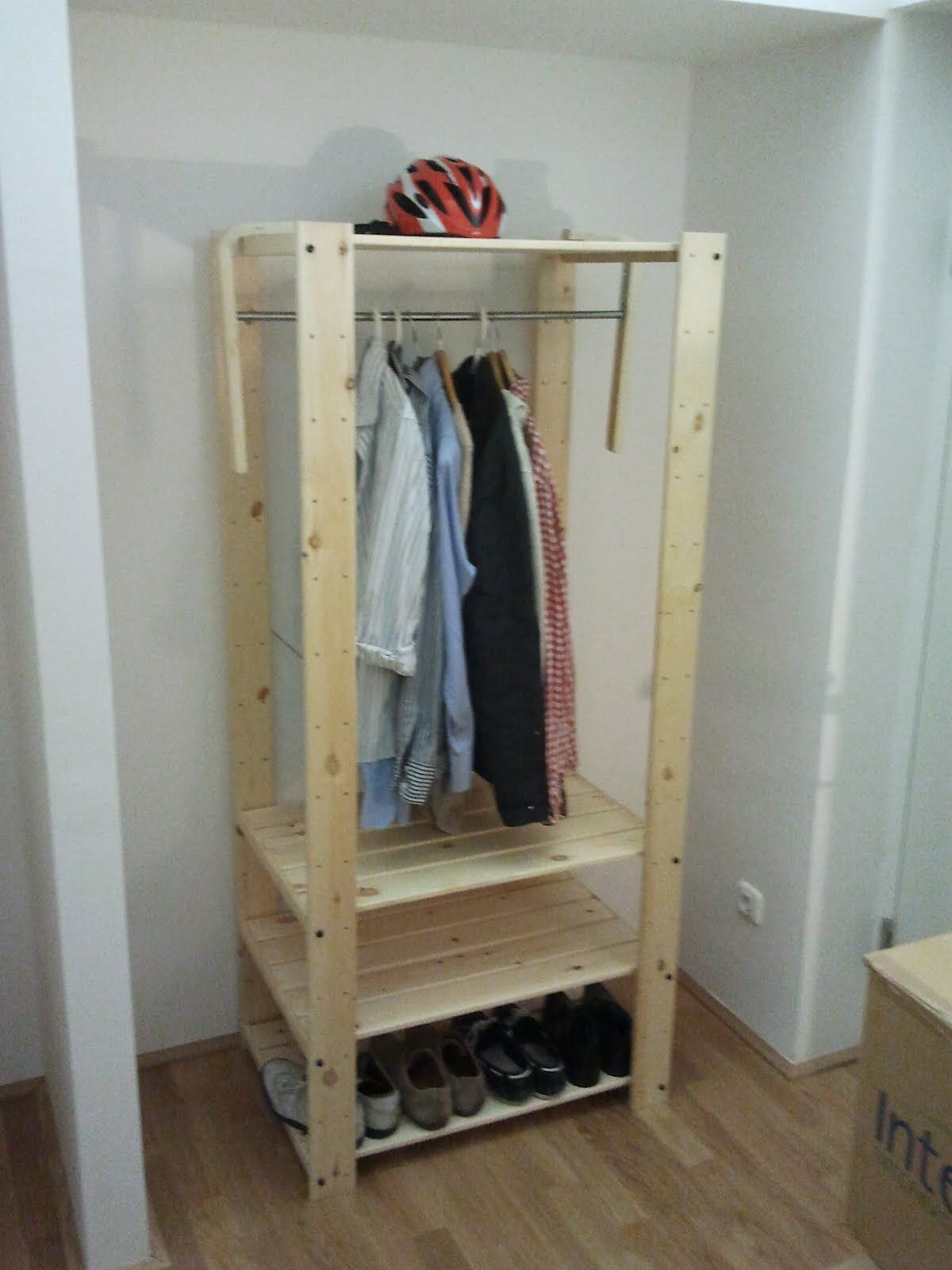 The 40 Euro Wardrobe Organizing Ikea Closet Organizer