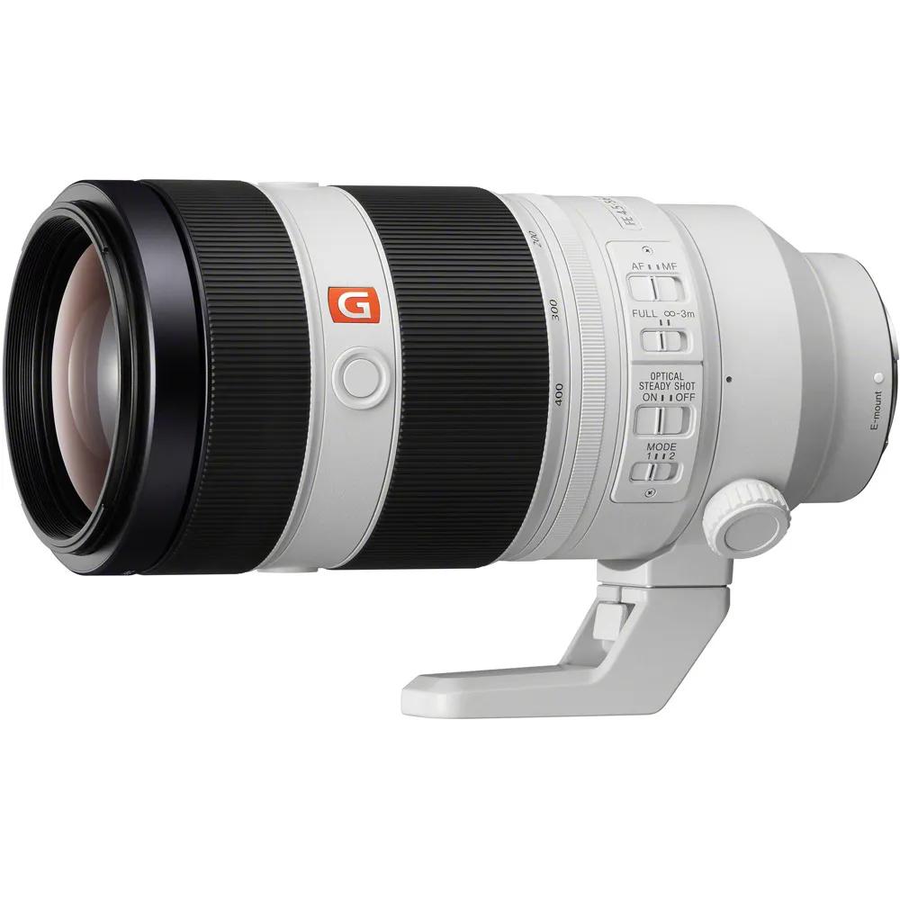 Sony Sel Fe 100 400mm F 4 5 5 6 Gm Oss E Mount Lens Sel100400gm Full Frame Zoom Telephoto Lenses Vistek Canada Product Detail Telephoto Zoom Lens Sony Sony Lens