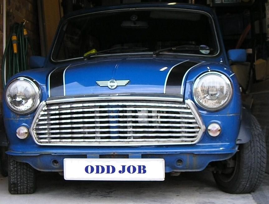 Italian Job Proper Mini (Minus his bumper oops