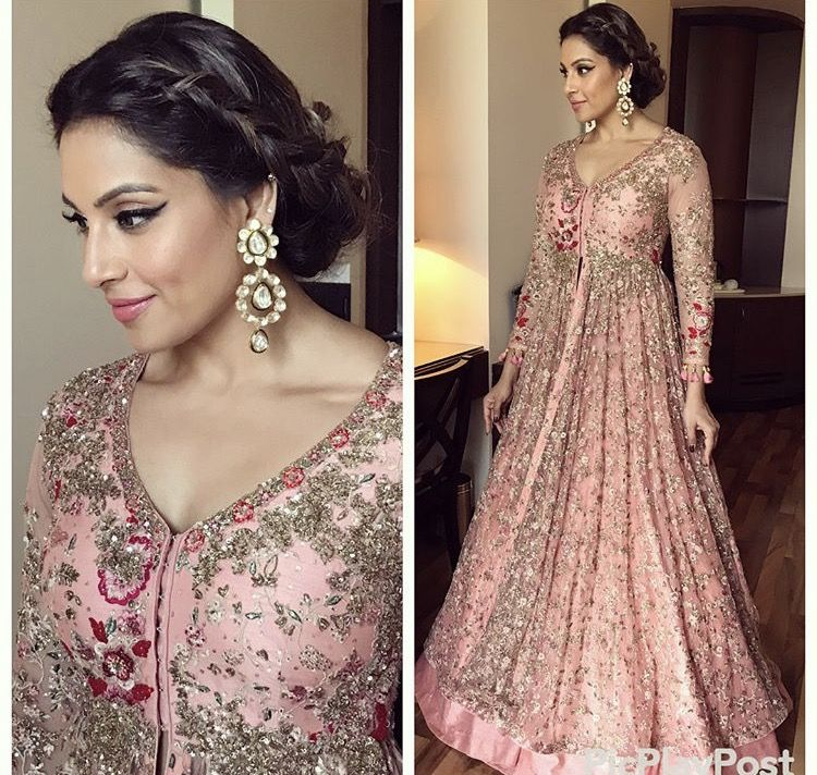 Bipasha Basu in this lovely outfit for an event | Ethnic and Fusion ...
