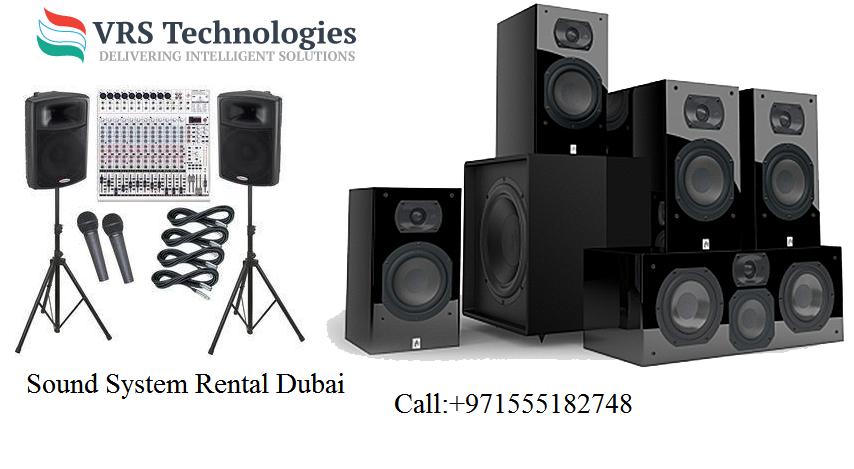 Sound System Rental Dubai Sound System For Rent Vrs Technologies Best Sound System Sound System Technology