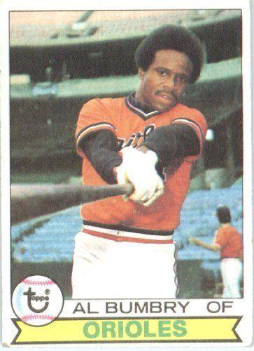 1979 Topps 517 Al Bumbry Baltimore Orioles Baseball Card By Topps